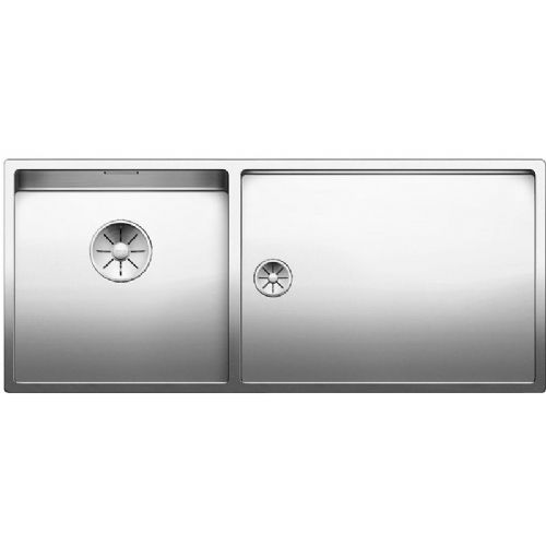 Blanco Claron 400/550-T-U Undermount Stainless Steel Kitchen Sink